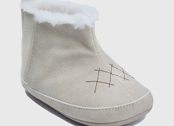 ro + me Natural Charlie Cozie Boot Baby Shoes