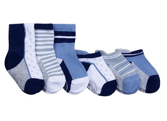 ro+me Brian Blue Baby Socks