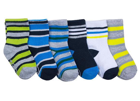 ro+me Multi Stripe Baby Socks