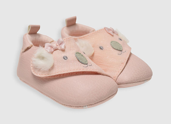 ro + me Kato Baby Shoes, Pink