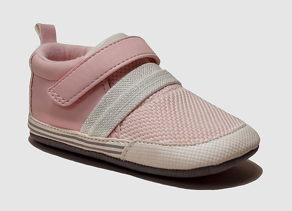 ro + me Pink Jill Athletic Baby Shoes