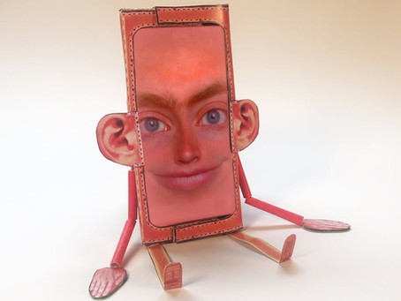 Turn your smartphone into a digital puppet - get your free kit posted out!