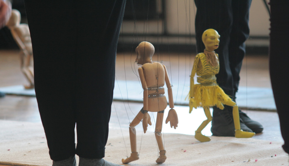 Marionettes: Dead or Alive by Stephen Mottram