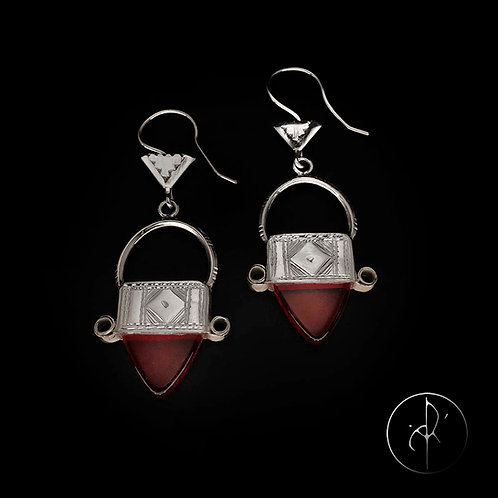 Boucles d'oreilles in gall