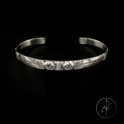 Bracelet touareg plat