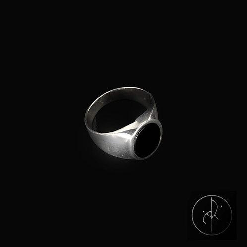 Chevalière onyx