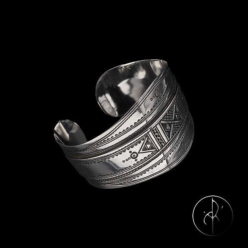 Bracelet manchette touarègue