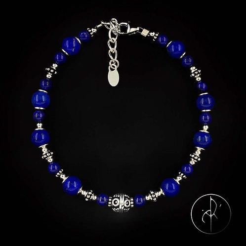 Bracelet indien lapis lazuli
