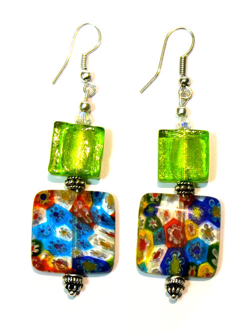 Meli Glass Earrings