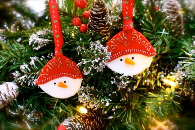 Irish Christmas.Nollaig Shona Irish Christmas Decorations