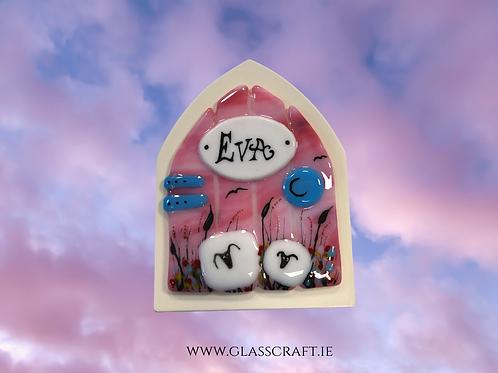 fairy door with sheep made in ireland