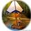 Thumbnail: Pixie  Glass Art Lamp