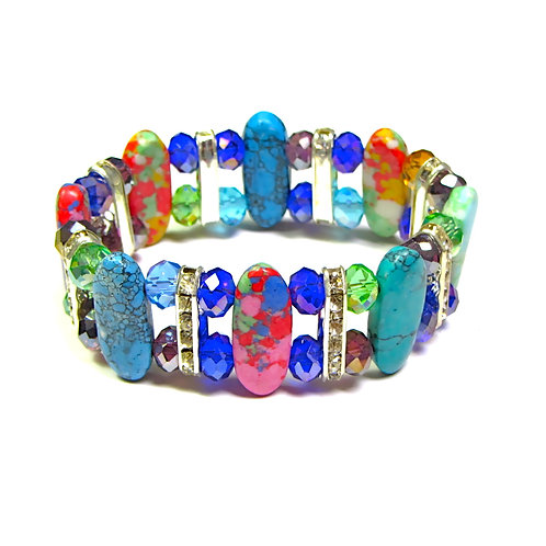 The Marble Stone Diamond Bracelet