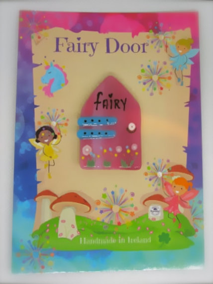 handcrafted kiln fused glass mini fairy door spiddal craft village
