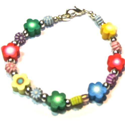 Baby flower bracelet
