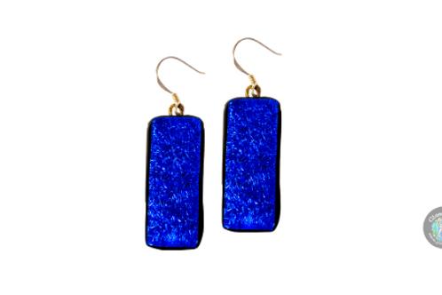 fused glass earrings galway