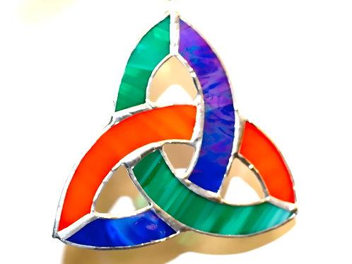 Trinity Knot Suncatcher