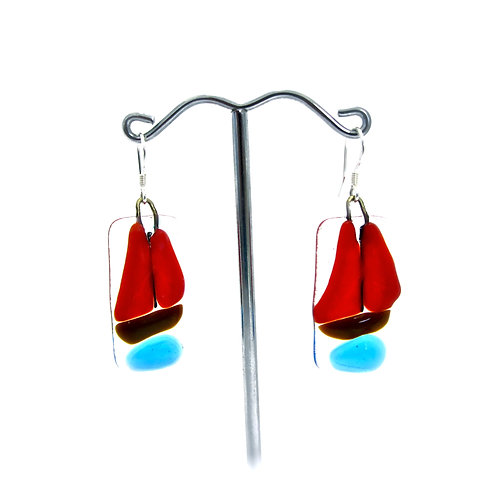 galway hooker boat earrings jewellery