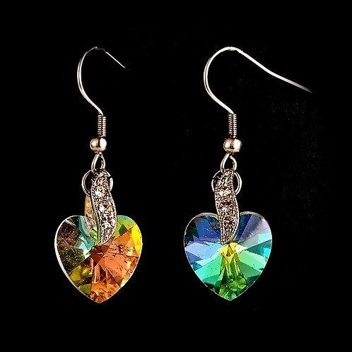 glass earrings glass craft spiddal craft village