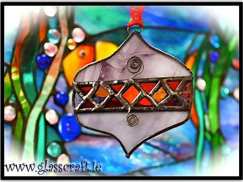 Celtic Stained Glass Decorations