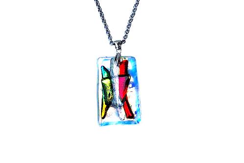 glass pendant handmade