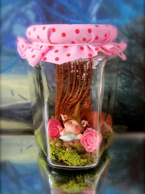 Magical Fairy Wish Jars Large