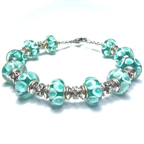 Glass Bead Bling Bracelets