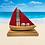 Thumbnail: Red Oak Boat Sculpture