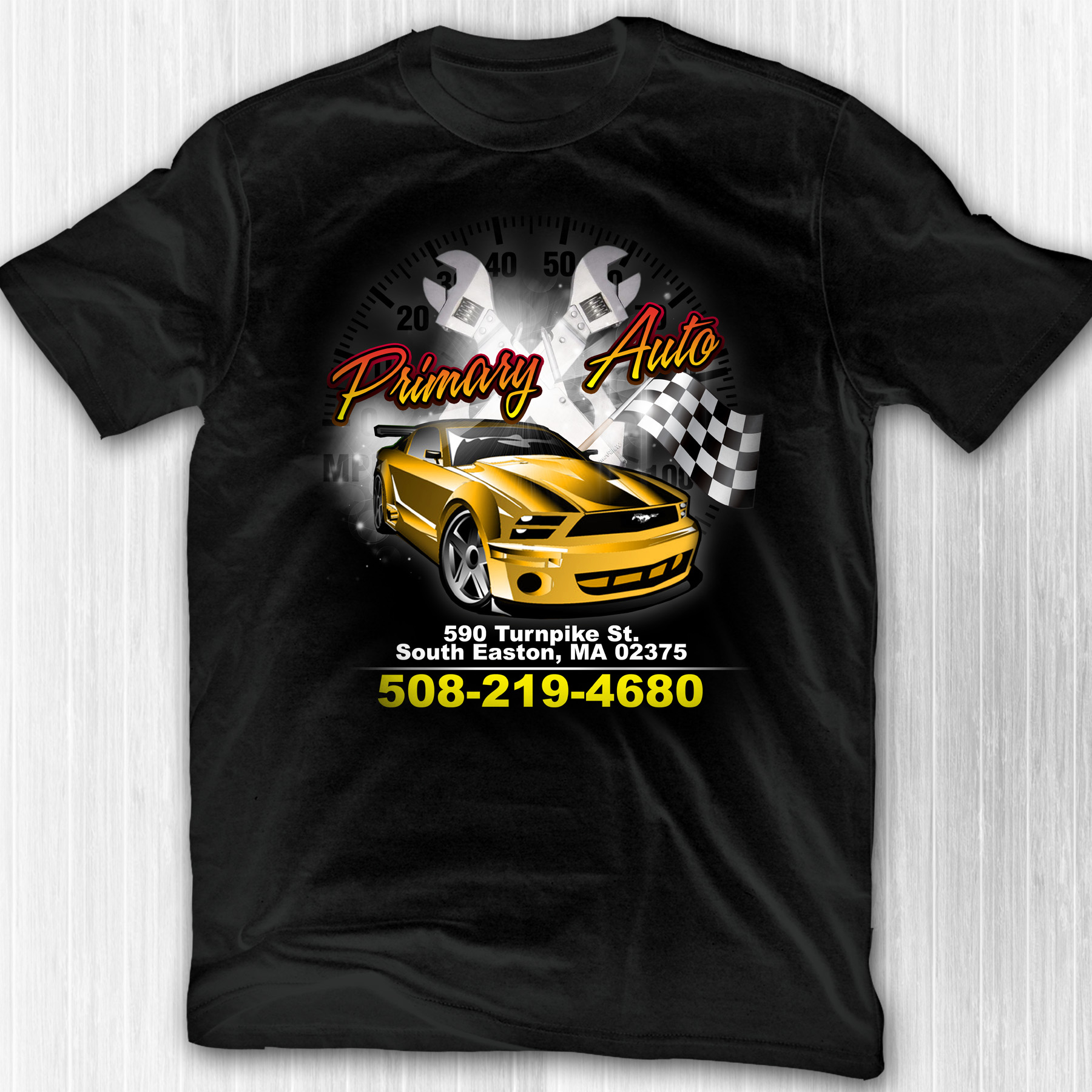Primary Auto shirt