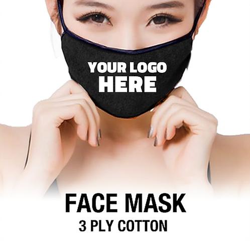 Facemask w/ Logo