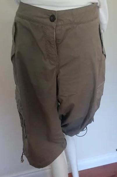 Pantalon capri Burberry L
