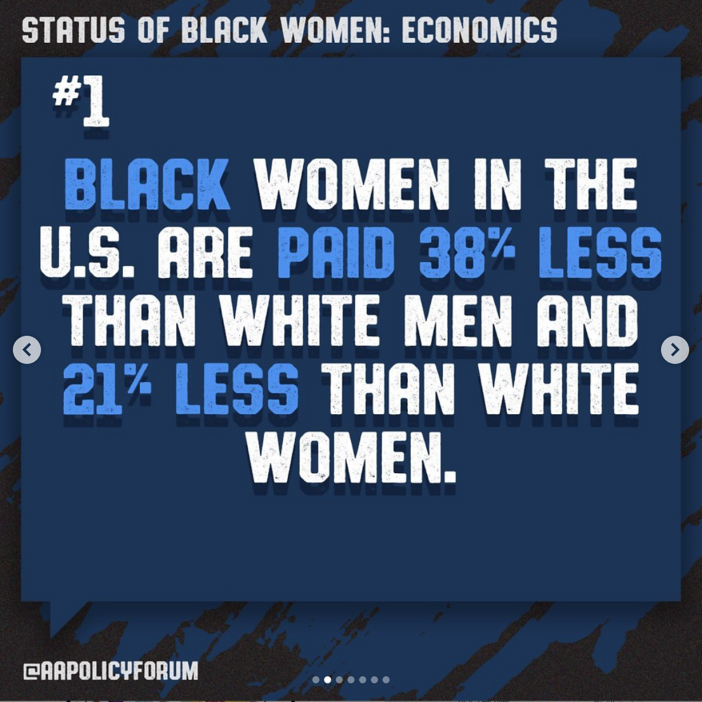 African American Policy Forum Graphic from Instagram