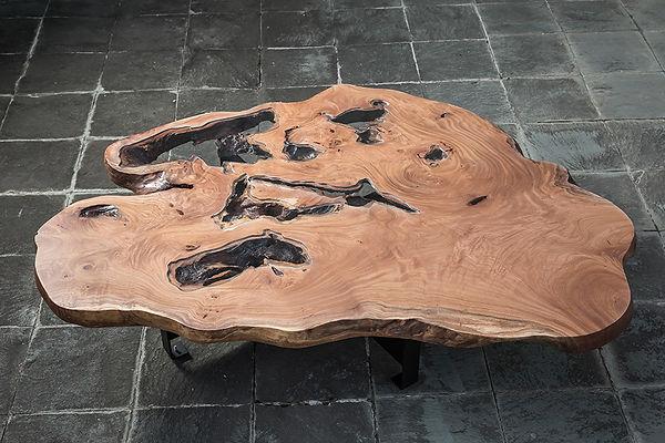 一枚板テーブル 欅 ケヤキ 展示即売会