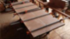 板接ぎテーブル