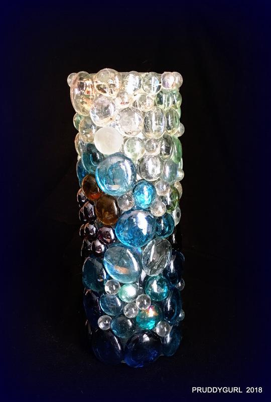 8x2 blues vase