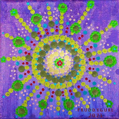 """Ametrine Sun (6"""" x 6"""")"""