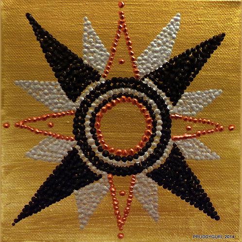 """Compass Star (6"""" x 6"""")"""