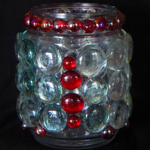 Medium Vase or/and Candle Holder (5.5 tall x 4.5 wide)
