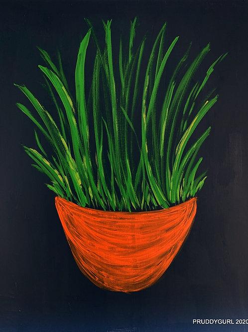 "Summer Grasses (24"" x 30"")"