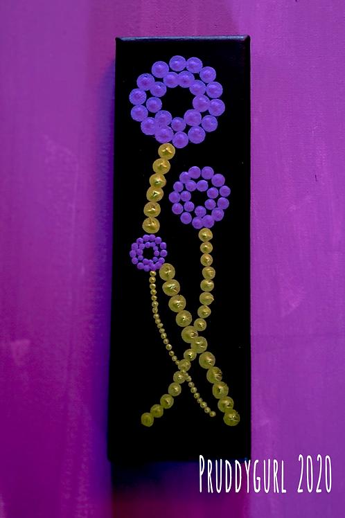 """Globe Flowers (3"""" x9"""")"""