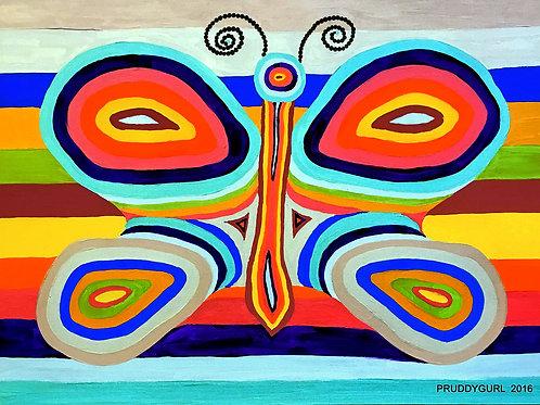 Splendor Butterfly (3' x 4')
