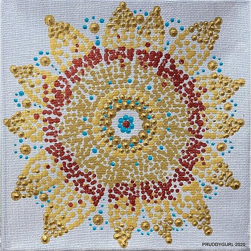 "Sunflower (6"" x 6"")"
