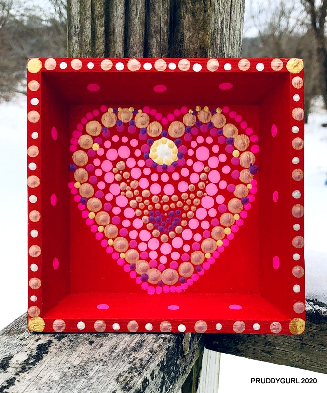 Heart Tray 5x5 WM