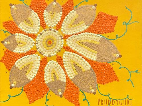 """Squash Flower (16"""" x 20"""")"""