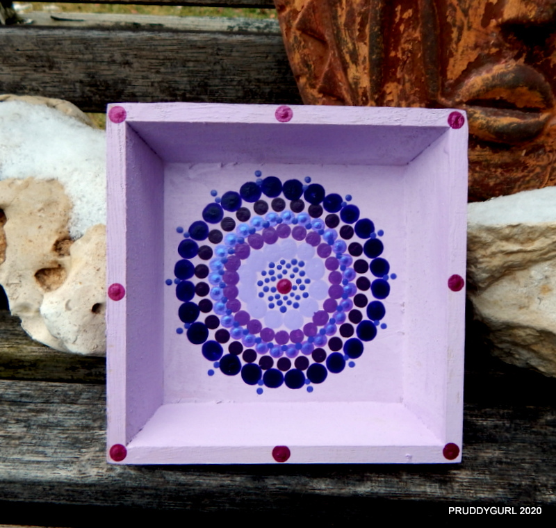 Little purple tray WM