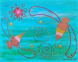 Fairy Dragonfly with Flower WM.jpg
