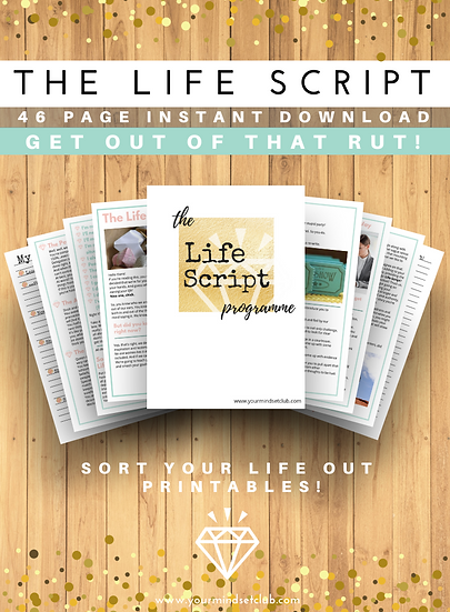 The Life Script Programme -Downloadable Therapy Pack