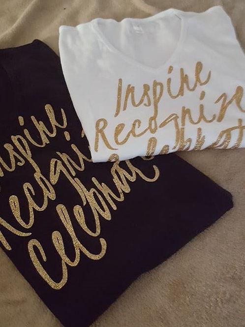 Grown Girls Inspire Recognize Celebrate Signature T-Shirt