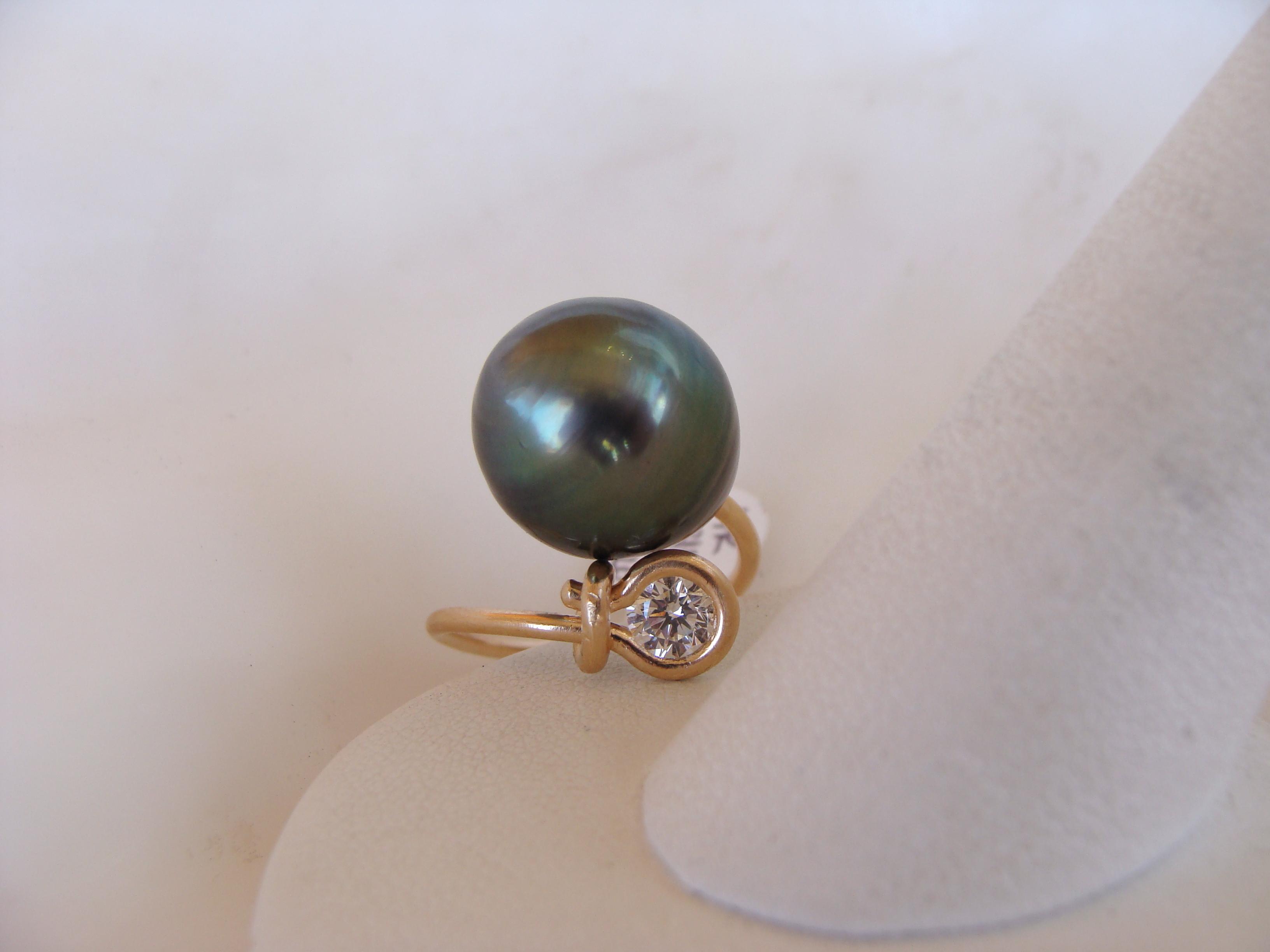 Brilliant Moderne Ring