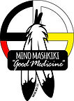 Mino Mashkiki - Objiwe Tribe Logo